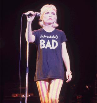 punk rock fashion blondie | fashionfoodfeminism