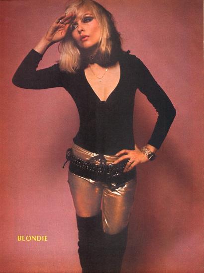Vintage Fashion Inspiration-Debbie Harry | fashionfoodfeminism