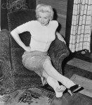 Marilyn Monroe Nursing Sprained Ankle