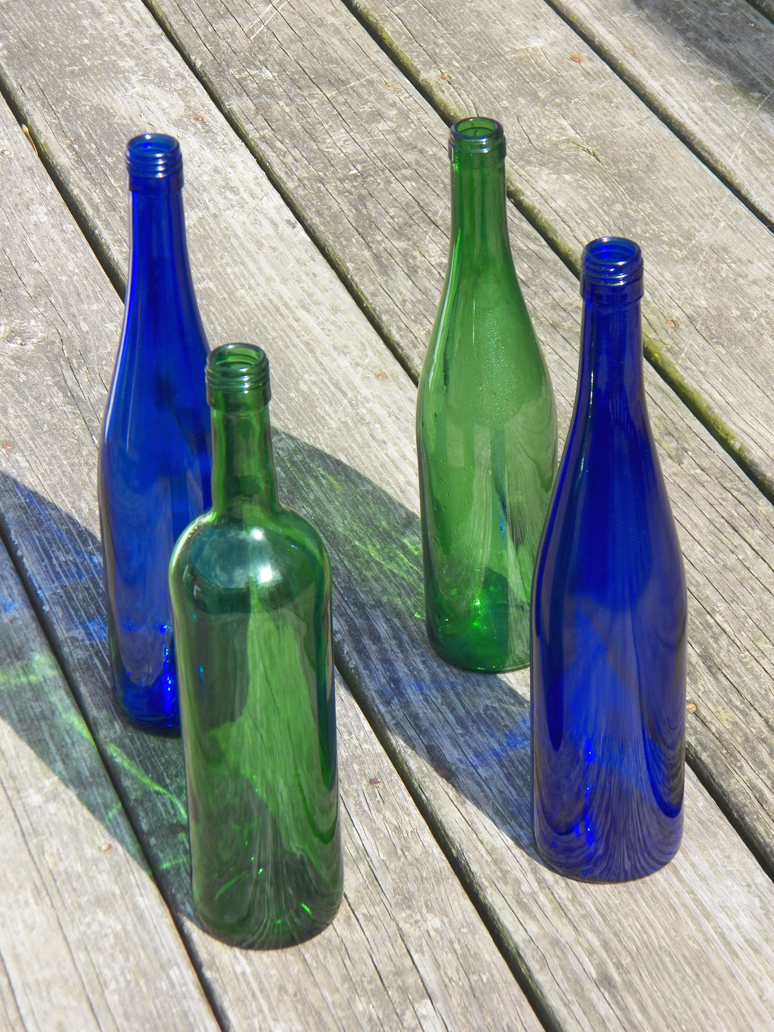 diy old wine bottles fashionfoodfeminism
